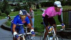 Indurain al Giro 1993 in rosa con Chiappucci. Bettini  Miguel Indurain, basta la parola. Il fuoriclasse della Navarra è stato il punto di riferimento del ciclismo a inizio Anni 90 e ora si prepara all'ingresso della Hall of Fame del Giro d'Italia, che vinse nel 1992 e nel 1993. Tra l'altro, Indurain è l'ultimo ad avere vinto la corsa della Gazzetta per due anni di fila.