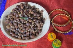 Black channa is liked by all at home and besides making chole and using them up for chaats I make this sundal regularly at home for evening snacks.These are a store house of proteins and filling to the stomach.Traditionally for Saraswathi Pooja this sundal is made,so thought of posting it today.Since it is, spicy my husband loves it a lot.This can be made as an after school snack and you can add less spices if the kids are eating.Make this flavourful sundal and offer it to the Goddess on…