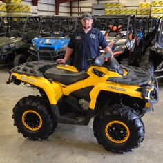 Thanks to Kyle Peavy from Columbia MS for getting a 2013 Can-Am Outlander 800 at Hattiesburg Cycles