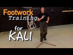 Footwork drills - Kali for Beginners: Filipino Martial Arts