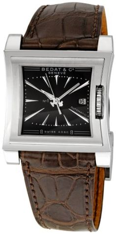 Review Bedat Men's BDT114.010.310 Number One Black Dial Watch By Bedat | REVIEW WATCHES PRODUCTS