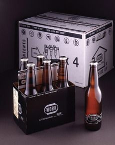 WORK Beer : Lovely Package® . Curating the very best packaging design.