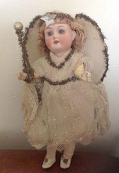 antique Christmas angel More
