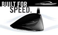 Cleveland CG Black Driver Aerodynamic Crown Design Tech Image Wilson Golf Clubs, Tech Image, Cleveland Golf, Design Tech, Thick Body, Golf Putters, Golf Shop, Golf Stuff, Golf Irons