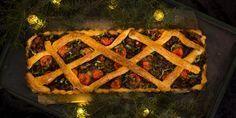 Härkis-piirakka Vegan Pie, Quiche, Tart, Waffles, Breakfast, Food, Pizza, Breakfast Cafe, Pie