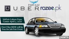 As you folks do know about Uber was launched in Pakistan some time ago. It's being a while since it gaining some popularity in Lahore. Meanwhile UBER C.E.O announced the they will not wholly private, in fact they will more socialize in the world of Taxi Service. UBER is offering Complete Free for the first ride, in addition there is discounted Ride for subsequentpeople who will leave for Job Fair launching in Lahore, an expo where over 125 companies will become a part of Pakistan's biggest…