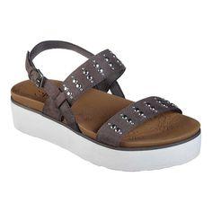6e2336603f7f Skechers Summer Rose Countless Ankle Strap Sandal