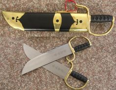 Butterfly swords. Martial arts weapons