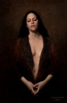 "Nimbus, ©2008 By Adrian Gottlieb Oil on Belgian Linen Size: 36"" x 24"" S. R. BRENNEN GALLERIES"