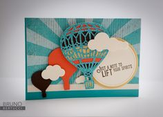 Bruno Bertucci | Stampin Up | stampinbruno | Lift Me Up | Up and Away | Handmade Card