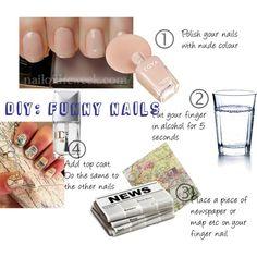 Funny nails - My Favorite Beauty DIY @Cindi Taylor