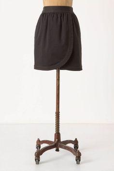 Canvas Tulip Skirt by Leifsdottir