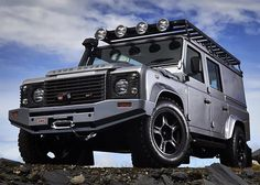 Kitted Land Rover D110 equipped with heavy-duty height adjustable air-suspension - by ACH Special Vehicles. (((( SOURCE: #Regram @ach_special_vehicles )))) #landrover #rangerover #car #discovery #rangeroversport #millionaire #billionaire #bespoke #defender110 #adventure #classylady #defender #design #travelawesome #britishcars #britishcar #icon #exclusive #gentlemen #defender90 #rover #cool #exoticcars #carinstagram #cars #gentleman #landy #carswithoutlimits #LandRoverDefender by…