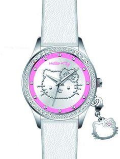 ceasuri hello kitty Hello Kitty, Watches, Leather, Accessories, Shopping, Fashion, Moda, Wristwatches, Fashion Styles