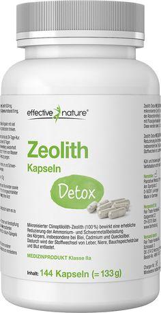 Zeolith Detox von effective nature – ein Medizinprodukt zur Entgiftung Zeolith ist ein Gestein vulkanischen Ursprungs und zählt zu den sogenannten mikroporösen Tuffgesteinen. In seiner natürlichen Form bezeichnet man den Zeolith auch...