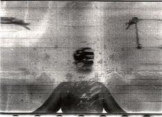 Paolo Gioli  Purchè l'immagine non colpisca l'occhio 1975 fotofinish stampa bn