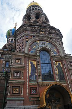 Saint Petersburg Russia Sacred Architecture, Church Architecture, Amazing Architecture, Architecture Details, Largest Countries, Countries Of The World, Temples, St Petersburg Russia, Russian Orthodox