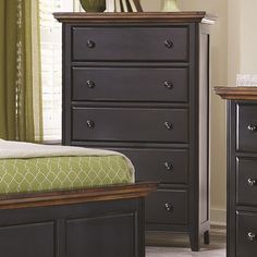 Coaster Mabel 5 Drawer Chest with Tapered Feet - Coaster Fine Furniture