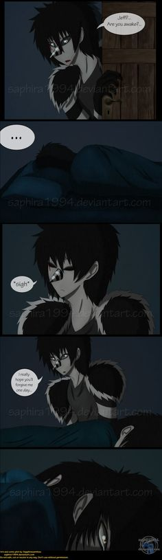 Adventures With Jeff The Killer - PAGE 81 by Sapphiresenthiss on deviantART