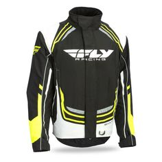 Fly Racing SNX Wild Blue//Orange Waterproof /& Insulated Snowmobile Jacket