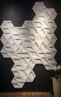 Infinity Branco - Expo Revestir - Foto: Favaro Jr.   #revestimento #design #arquitetura #castelatto #parede #decor #decoração #sofisticacao #wall
