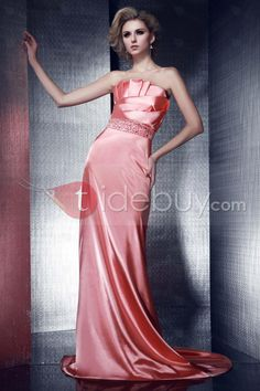 Luxurious Strapless Floor-Length A-Line Dasha's Evening Dress .. $130 .. Apr 2013
