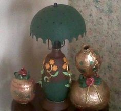 lamp in totumo