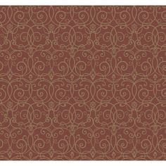 Trellis red/gold metallic designer wallcovering by York. Item SS1333. Save big on York. Free shipping! Find thousands of patterns. Sold by the roll. Width 27 inches.