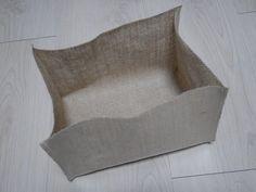 16 Ideas fabric storage box tutorial ideas for 2019 Diy Storage Bed, Closet Shoe Storage, Fabric Storage Boxes, Bag Storage, Linen Storage, Photo Storage, Food Storage, Diy Projects Small, Burlap Projects