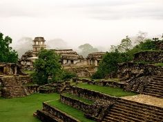 Palenque, Mexico Photograph by Stephen Alvarez  The earliest Maya began to settle the dense rain forests of southwestern Mexico and Guatemala some 3,000 years ago. For nearly 1,400 years, settlements arose throughout the region, with some, like Tikal and Palenque (shown here), expanding into large, vibrant city-states.