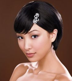 Most Popular Short Wedding Hairstyle