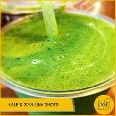 Beat your #MondayMorningBlues with our power packed and Super fresh Kale and Spirulina juice #NoAddedSugar
