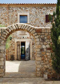 Las claves de la fachada de piedra -