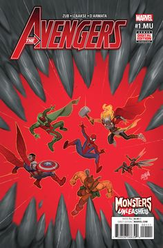 Avengers (2016) Issue #1.MU