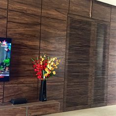 An affair with wood @ Balaji Apartment Hubli India