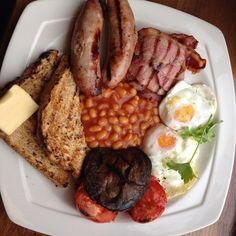 English breakfast... Nom nom...  351 The Strand London WC2R 0HS UK   Strand  $$ Moderate