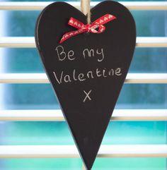 Be My Valentine heart. PlastiKote Twist & Spray Chalkboard. Valentine Heart, Valentines Day, Spray Paint Projects, Chalkboard, Valentine's Day Diy, Chalkboards, Valentine Words, Chalk Board, Valentines