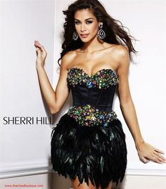 Sherri Hill Dress 2886 at Peaches Boutique