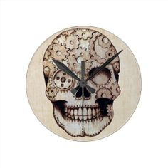 ==>>Big Save on          Steampunk Sugar Skull Clock           Steampunk Sugar Skull Clock we are given they also recommend where is the best to buyShopping          Steampunk Sugar Skull Clock lowest price Fast Shipping and save your money Now!!...Cleck Hot Deals >>> http://www.zazzle.com/steampunk_sugar_skull_clock-256705360774626005?rf=238627982471231924&zbar=1&tc=terrest