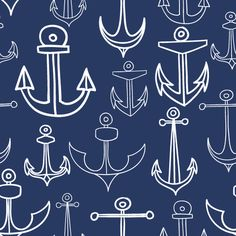 Anchors Aweigh Removable Wallpaper {I need this for the boys room...just one wall!}