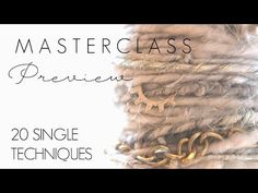 SINGLE Creative Spinning Masterclass Preview - Creative Yarn Spinning Techniques for Fiber Artists - YouTube Spinning Wool, Spinning Wheels, Hand Spinning, Yarn Inspiration, Felt Flowers, Textile Art, Yarns, Fiber Art, Retirement