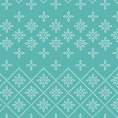 Hawthorne Threads - Cottontail - Eyelet in Seafoam
