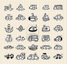 Illustration about Hand draw car element,vector illustration. Illustration of limousine, ship, cartoon - 16793850 Car Drawings, Doodle Drawings, Doodle Art, Illustration Simple, Doodle Icon, Doodle Inspiration, Sketch Notes, Doodles Zentangles, Doodle Patterns
