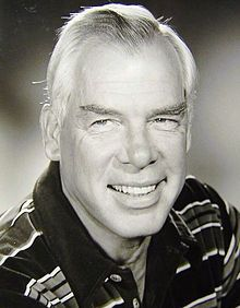 Lee Marvin (February 19, 1924 – August 29, 1987) was an American film actor. Known for his gravelly voice, white hair and 6 ft 2 in (1.88 m) stature, Marvin at first did supporting roles, mostly villains, soldiers and other hardboiled characters, but after winning an Academy Award for Best Actor for his dual roles in Cat Ballou (1965), he landed more heroic and sympathetic leading roles....