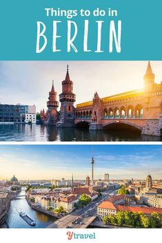 Best Travel Guide - things to do in Berlin Germany including where to eat, where to drink, places to stay, attractions and places to visit, how to get around the city, and much more. Don't visit Berlin before reading these Berlin travel tips. Plan the ultimate trip to Europe with this information! #travel #Berlin #Germany #Europe #traveltips #vacation