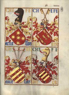 As mesmas armas no Livro da Nobreza e Perfeiçam das Armas (fl 34r)