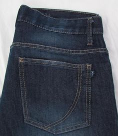 Men PDC Paper Denim & Cloth Jeans Relaxed Straight Leg Dark Wash sz 34 X 30 #PaperDenimCloth #ClassicStraightLeg