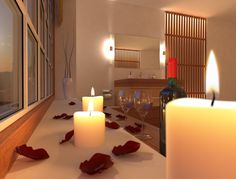 Bathroom design. Modelled in 3ds Max, rendered in v-ray + Photoshop.