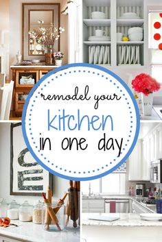 Remodeling Your Kitchen In One Day