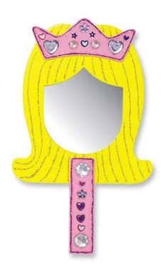 Melissa & Doug Decorate Your Own Princess Mirror